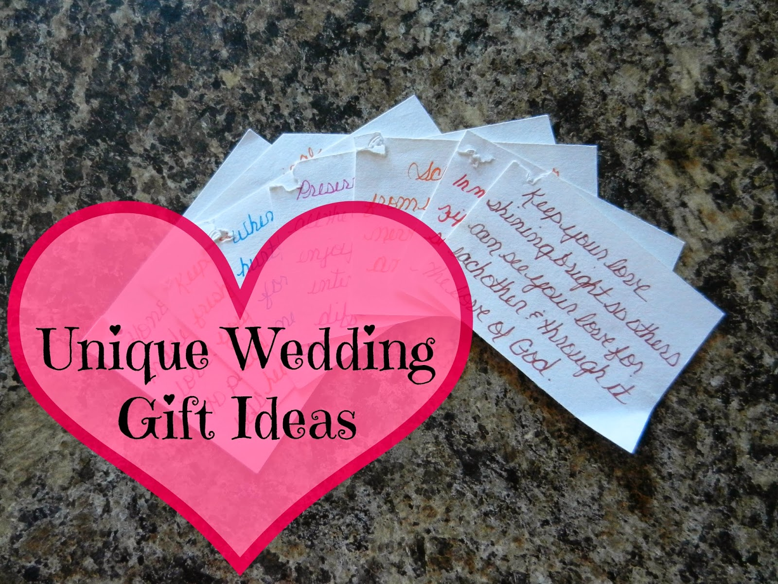 Unique Wedding Gift Ideas: How To Come Up With Unique Wedding Registry Ideas