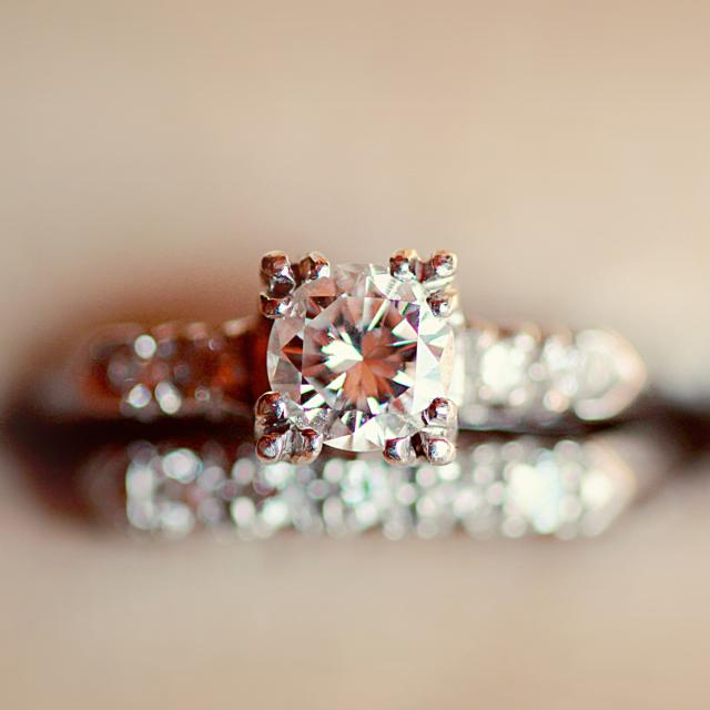 How to keep your diamond engagement ring sparkling